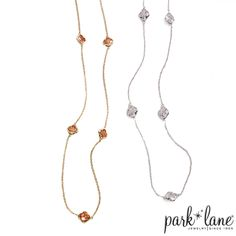 Everyday Diva Necklace | Park Lane Wearing this today!!  In Silver.  It is quickly becoming my go to piece!!