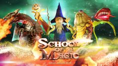 School of Magic 4D - Wallpaper