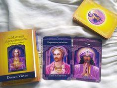 Les cartes Les Maîtres Ascensionnés - Oracle de guidance. #oracleCartes #TarotCartes #Tarot #Oracle #TarotCards #OracleCards