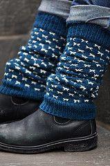 Ravelry: Arrowwood Legwarmers pattern by Laura Chau #knitting