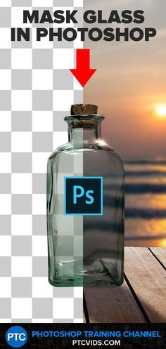 In this Photoshop tutorial, you will learn how to extract glass from a white background using blending modes.