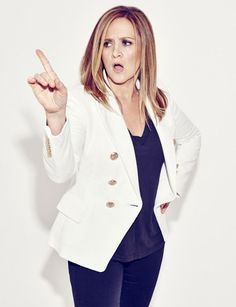 Samantha Bee Her new show drops on Monday the 8th on TBS