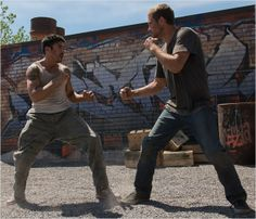 Brick Mansions : Photo David Belle, Paul Walker