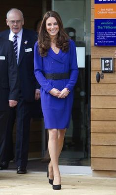 Kate Middleton in a Reiss dress