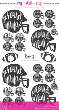 BEST SELLER - Football Helmet with Proud Family Member's Name in Plain and Distressed with Matching Football Monogram Frames Football Sister, Football Mom Shirts, Free Football, Sports Shirts, Football Sayings, Cheer Shirts, Football Art, Football Stuff, Baseball Mom