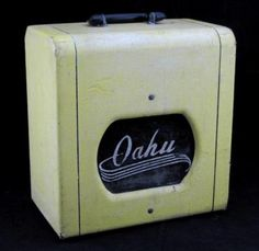 Valco Manufacturing Oahu Vintage Electric Guitar Tube Amplifier- Sea breezes.