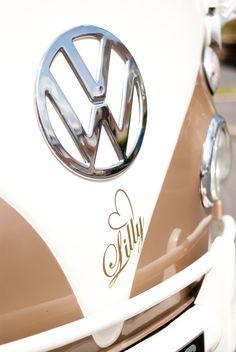 VW Campervan, Wedding, Lilly, http://alldubbedupweddings.co.uk/wedding-car-limo-hire.htm