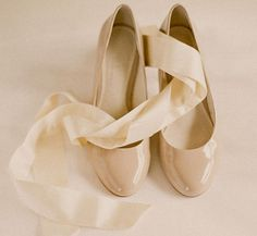 wedding shoe patent ballet flats