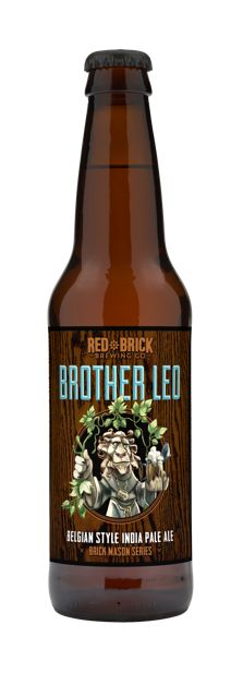 Red Brick Brother Leo Belgium IPA - Available in July