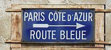 La route bleue ou route nationale 7