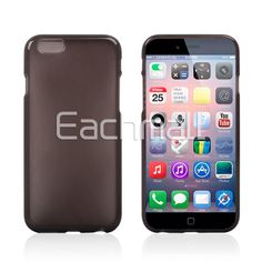 Wholesale Soft Slim TPU Gel Rubber Skin Jelly Case Cover for Apple 4.7 Inch iPhone 6 Free Shipping