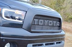 BPF Tundra Raptor Style Mesh and Lettering 2008 Tundra, 2008 Toyota Tundra, Hilux Mods, Toyota Tundra Accessories, Lifted Tundra, Cafe Design, My Ride, Land Cruiser, Ford Raptor