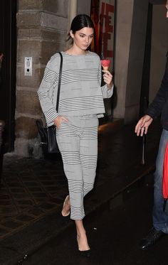 A matching set done right by Kendall Jenner.