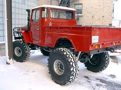 Toyota Land Cruiser FJ45....Christopher would love this one.