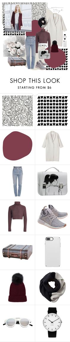 ***** is enough. by mariettamyan on Polyvore featuring мода, Monki, Vetements, adidas Originals, La Cartella, Rosendahl, SOREL, Spektre, Crate and Barrel and Prada