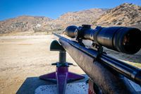 How to Sight-In Your Rifle for the Perfect Long-Range Shot Shooting Guns, Shooting Range, Shooting Sports, Shooting Bench, Shooting Targets, Winchester, Sniper Training, Tactical Training, Tactical Gear