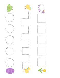 İlkbahar Temalı Etkinlik Sayfaları - Okul Öncesi Bahar Etkinlikleri Counting Activities For Preschoolers, Games For Kids, Children Games, Stickers, Words, Fine Motor, School, Crafts For Kids, Teaching Aids