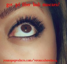 300% more volume, thickness and lengthens your lashes w/ green tea fibers!  Natural based to boot :)