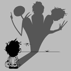 From the mind of Tim Burton.