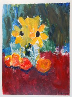 Van Gogh art lesson