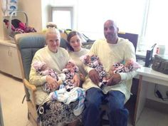 She Thought She Was Pregnant With Triplets. When She Goes into Labor, The Doctors Tell Her THIS (PHOTOS)