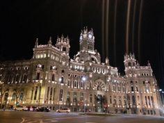 Nocturno de Madrid, Palacio de Cibeles #MeEncantaMadrid