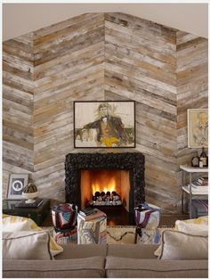 decorating with barn wood   Inspirational Home Decor Ideas Using Reclaimed Barn Wood