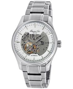 Kenneth Cole New York Men's Automatic Stainless Steel Bracelet Watch 43mm 10027200
