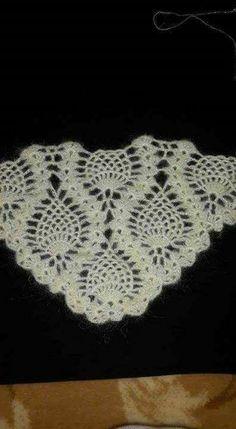 Crochet Afgans, Crochet Shawl, Crochet Doilies, Crochet Top, Crochet Diagram, Crochet Patterns, Halloween Express, Hand Embroidery Flowers, Bridal Shawl