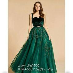 499bfdcdfad96 A Line Straps Beaded Pleats Evening Dress - Cute Dresses. toffa wedding · فساتين  سهرة مختلفة
