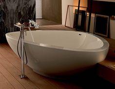 Hansgrohe Axor Massaud Freestading Tub Filler and hand shower