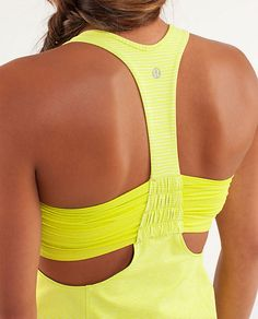 New LuluLemon top; the Turbo Tank. Want!!! [Actually .. I think it's a throwback bc I've pinned an old top like this from them.]