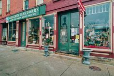 Chagrin Hardware in Chagrin Falls, Ohio | Established in 1857, this town hub still occupies its same spot on North Main. | Photo: Michael Simon/FlashStock
