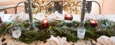 Hosting dinner parties is one of my favorite things to do- I love any opportunity to gather around a table and share a meal with friends and family. Given the season, I'd venture to guess that you have some entertaining. Merry Christmas To All, White Christmas, Christmas Holidays, Christmas Wreaths, Christmas Decorations, Holiday Decorating, Christmas Fashion, A Table, Entertaining