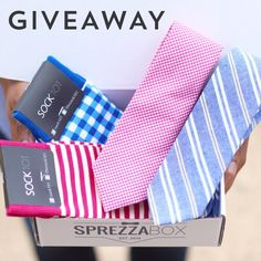 SprezzaBox is giving away these two tie + socks combos for Father's Day! To enter, simply re-pin this post. Winner will be contacted on Saturday 5/23.