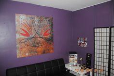 décoration murale repositionnable