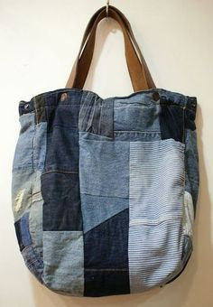 Recycling old jeans | Sac | Pinterest | Recyclage, Vieux Jeans et ...