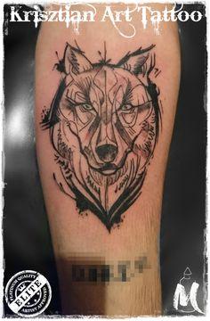 wolf sketch - Krisztian Art Tattoo