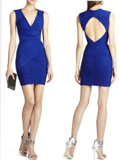 BCBGMaxazria Wish I'd bought this....if only I had a reason to wear it....love the blue!