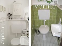 gina vintage: before . after picture . - Decoration For Home Bathroom Hacks, Bathroom Renovations, Paint Bathroom, Bathrooms, Amazing Life Hacks, Room Interior Design, Clean House, Cleaning Hacks, Kitchen Remodel