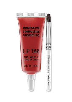 The Best Smudge-Proof Lipsticks - Obsessive Compulsive Cosmetics Lip Tar in Stalker from #InStyle