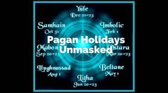 Mike Hoggard and Sheila Zilinsky -Pagan Holidays Unmasked