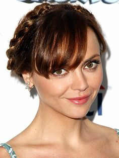 #ChristinaRicci at the Smurfs 2 premiere in 2013 #braids #celebrity #celebhairstyles