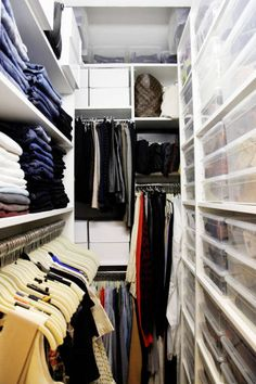 Make the most of a tight Manhattan closet with organization, organization, organization