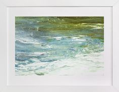 """""""Roil"""" - Art Print by Courtney Crane in beautiful frame options and a variety of sizes."""