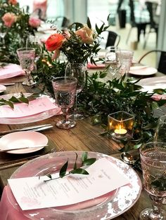 """This event was too pretty to not blog about! On Tuesday I was treated to dinner and a fabulous presentation about Dr. Hauschka's 'Rose"""" infused products and celebrated their 50th anniversary! Check out my latest blog post to see more pictures and goodies from the event. http://www.naancymaac.ca/2018/04/event-recap-dr-hauschka-la-vie-en-rose.html .   #drhauschka #drhauschkacanada #cabinetpr #rose #lavieenrose #wine #wineanddine #vegan #tablespread #decor #decorgoals #skincare #bbloggersCA"""