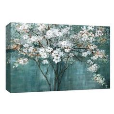 Take a look at this Teal Dogwood Wrapped Canvas today! Canvas Fabric, Canvas Wall Art, Canvas Prints, Art Prints, Canvas Canvas, Teal Background, Acrylics, Wrapped Canvas, Graphic Art