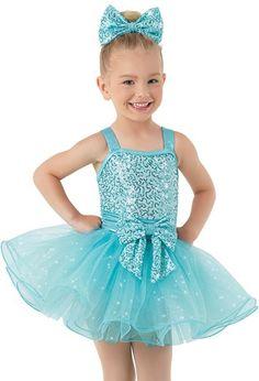Weissman™ | Sequin Bow Glitter Tulle Dress