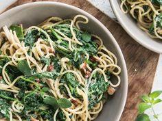 Spinazie spaghetti