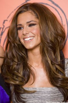 Cheryl Cole always has the best hair. I think this will be my next hair color.